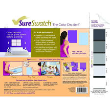sureswatch 9 in x 12 in paintable clear film 10001 the home depot