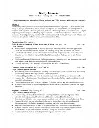 Detail Oriented Resume Example by Download Secretary Objective For Resume Examples