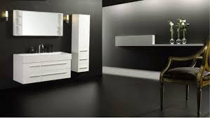Shallow Bathroom Vanities Taking An Inspiration From Small Space For Splendid Floating