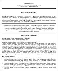 Office Assistant Resume Example by Executive Administrative Assistant Resume U2013 10 Free Word Pdf