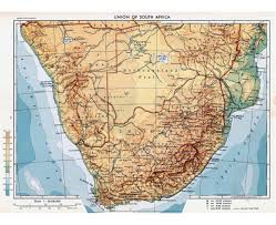 Africa Map Physical by Maps Of South Africa Detailed Map Of Republic Of South Africa In