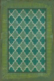 Vintage Vinyl Flooring by Indoor Outdoor Decorative Vinyl Floor Cloth Durable Lay Flat