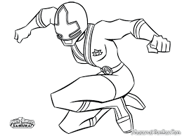 power ranger coloring pages rangers samurai gold dino