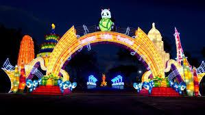zoo lights memphis 2017 lantern light festival memphis 2017