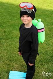 diy scuba diver costume design dazzle
