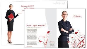 tri fold brochure template for real estate agent order custom tri
