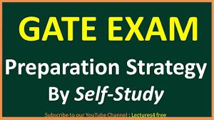 gate 2018 preparation strategy by self study youtube