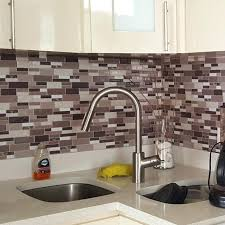 Stick On Kitchen Backsplash Peel And Stick Kitchen Backsplash Kitchen Featuring Peel Stick
