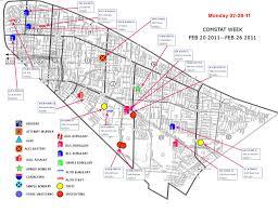 Crime Map New Orleans Nopd 4th District Crime Map Feb 28 2011 Nola Com
