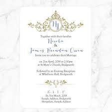 monogram wedding invitations royal monogram boutique wedding invitation rsvp