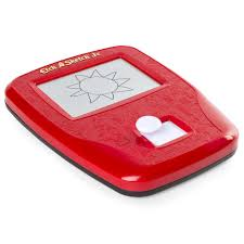 etch a sketch joystick drawing pad toys
