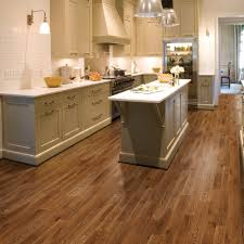 oak floors in kitchen rich dark cabinets w blonde hardwood floors
