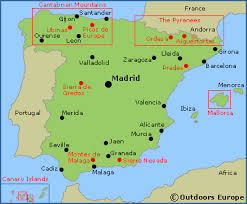 spain walking trekking and hiking information