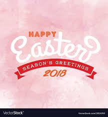 happy easter season greetings 2018 ribbon pink bac