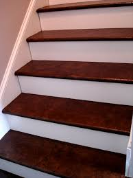 brown paper stairs walnut stain building ideas pinterest