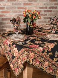 Coffee Table Cloth by Victorian Rose Tablecloth Linens U0026 Kitchen Tablecloths