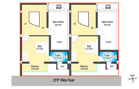 south facing plot floor plans dabc u0027s habitat row houses in