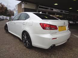 lexus f 5 0 sedan v8 used lexus is f 5 0 v8 auto navigation pearl white anthracite