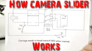 explanation of camera slider wiring diagram youtube