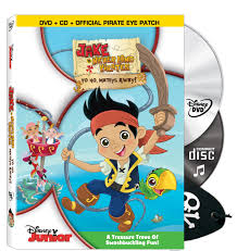 disney u0027s jake and the never never land pirates dvd cd boost