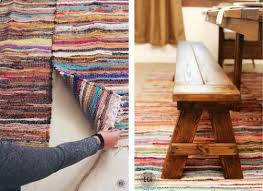 Diy Area Rug From Fabric Diy Rug 10 Way To Make Your Own Bob Vila