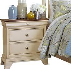 homelegance inglewood ii 2 drawer nightstand in antique white
