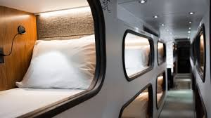 could a bus with sleep pods replace airplanes npr
