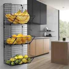 wall mounted kitchen storage cupboards best kitchen wall storage organizers 2019 popsugar food