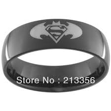 superman wedding band superman wedding rings popular tungsten superman wedding bands buy