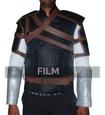 leather vest gear witcher 3 geralt of rivia leather vest