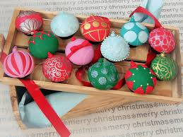 box of ornament cupcakes