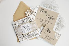 3d wedding invitations 15 beautiful laser cut 3d wedding invitations to impress your
