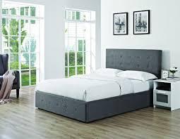 5ft Bed Frame Chanel Ottoman Bedframe Grey
