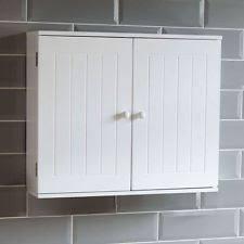 wall mounted bathroom cabinets ebay