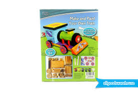 Make Your Own Wooden Toy Train by Make And Paint Your Own Train Fun Educational Kids Crafts Diy