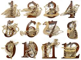 Jim Shore Christmas Ornaments 12 Days by Luxurious And Splendid 12 Days Of Christmas Decorations Amazing