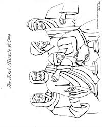 miracle coloring page u2013 az coloring pages coloring pages of jesus