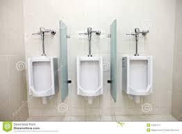 bathroom men urinals in men s bathrooms stock image image of station