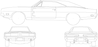 the blueprints com blueprints u003e cars u003e dodge u003e dodge charger 1969