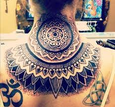 45 awesome neck tattoos pictures cool back neck designs