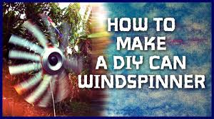 how to make a recycled aluminum can wind spinners diy soda can