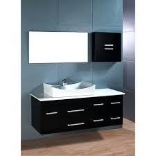 Contemporary Bathroom Vanity Units by Vanities Murcia 60 Wall Mounted Vanity Drawer Unit Wall Mounted