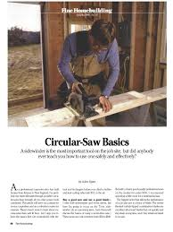 download fine home circular saw basics pdf docshare tips