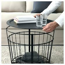 wire and wood basket side table cheap wooden coffee table design with storage drawers in natural