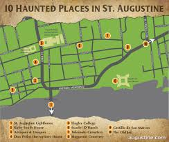 Map Of St Augustine Florida by St Augustine Haunts Visit St Augustine