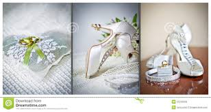 wedding shoes and accessories high heels wedding shoes rings and wedding accessories stock