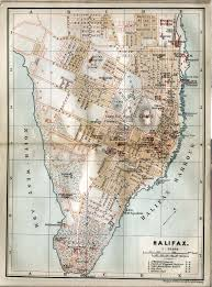 Halifax Canada Map by Vintage Halifax Map Http Www Mervedinger Com The City Has Grown