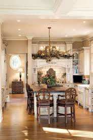 Center Island Kitchen Designs Custom Kitchen With Beautiful Cabinetry And Center Island