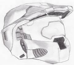 master chief helmet by oktar17 on deviantart