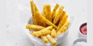 jeux de cuisine frite tranches de polenta frites recettes femme actuelle